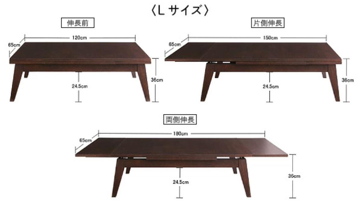 延長テーブル